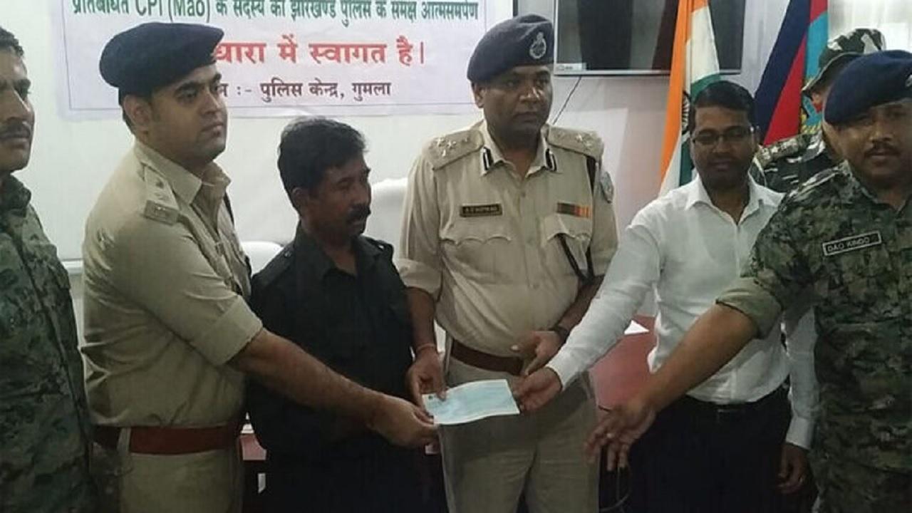 Naxalite Bhushan Yadav