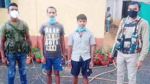 नारायणपुर पुलिस ने किया 2 नक्सलियों को गिरफ्तार, निकले कोरोना पॉजिटिव