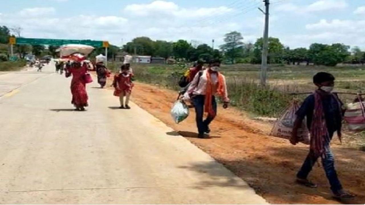 बस्तर में बढ़ा आंध्र प्रदेश में मिले कोरोना स्ट्रेन का खतरा, बॉर्डर सील; जंगल के रास्ते आ रहे मजदूर