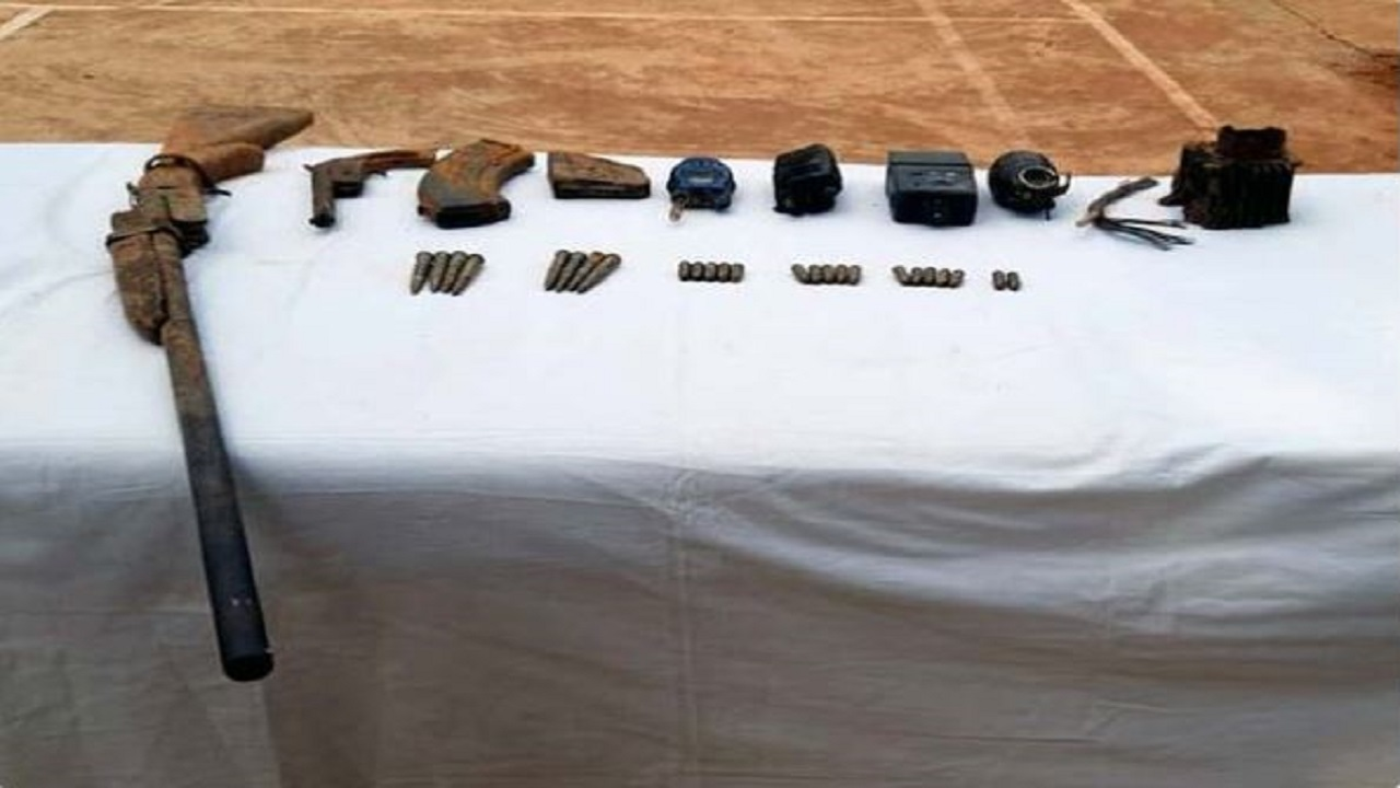Naxalites Weapons Recovered