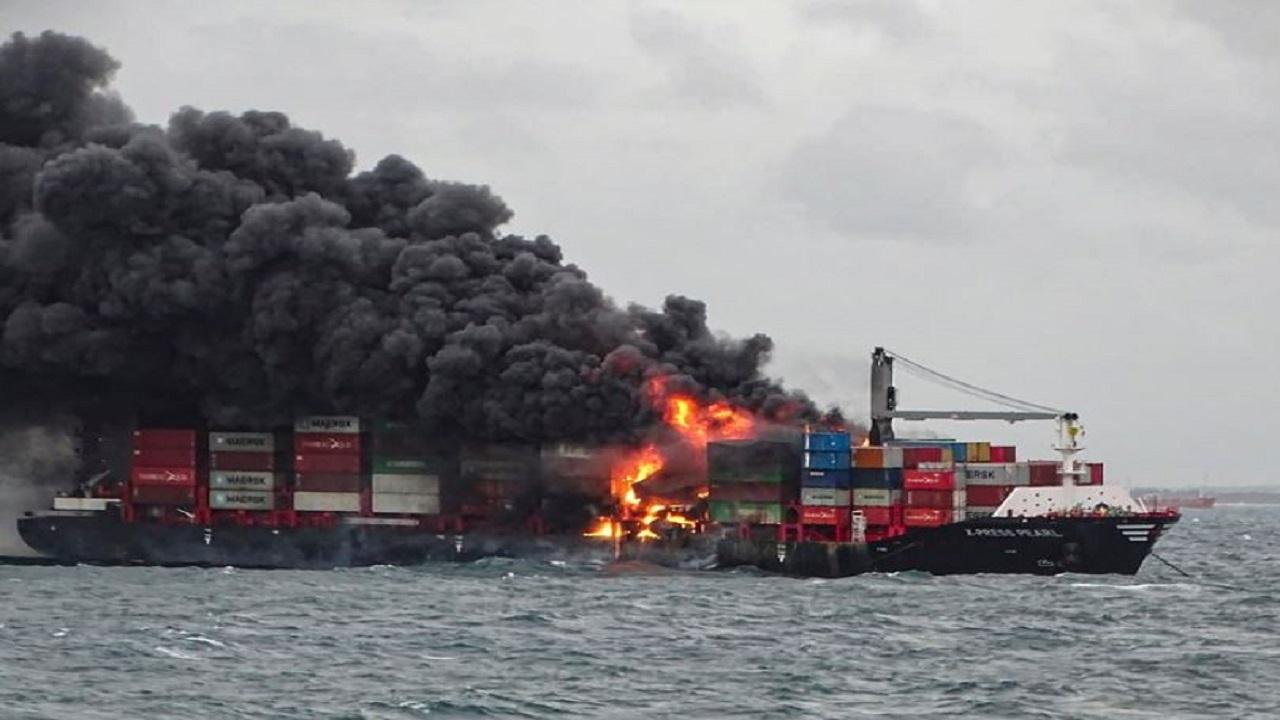 श्रीलंकाई मालवाहक जहाज में लगी आग बुझाने में जुटी भारतीय सेना, बचाव अभियान में भारत के जहाज शामिल