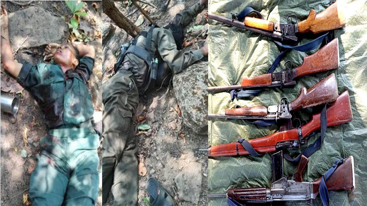 छत्तीसगढ़: कोंडागांव में सुरक्षाबलों के साथ मुठभेड़ में महिला सहित दो नक्सली ढेर, भारी मात्रा में हथियार बरामद