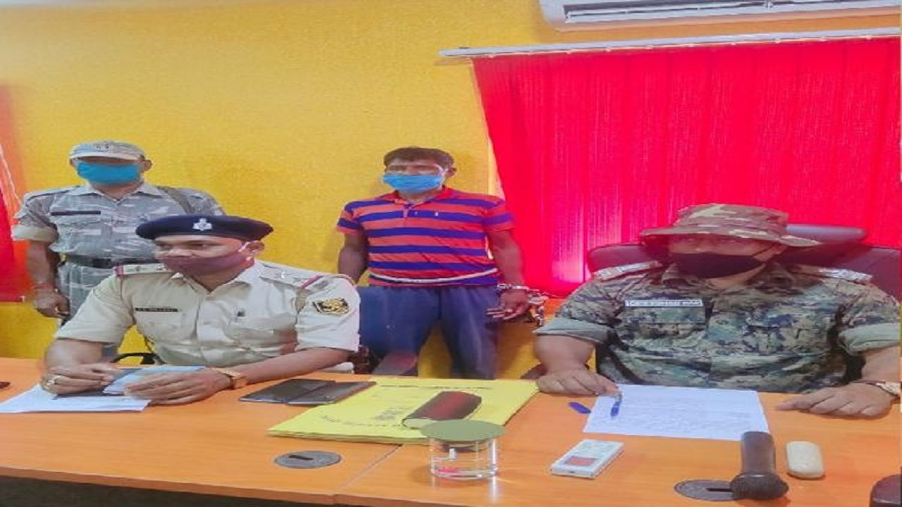 औरंगाबाद पुलिस को बड़ी कामयाबी मिली, हार्डकोर नक्सली शिव भुंइया गिरफ्तार, दर्जनों केस हैं दर्ज