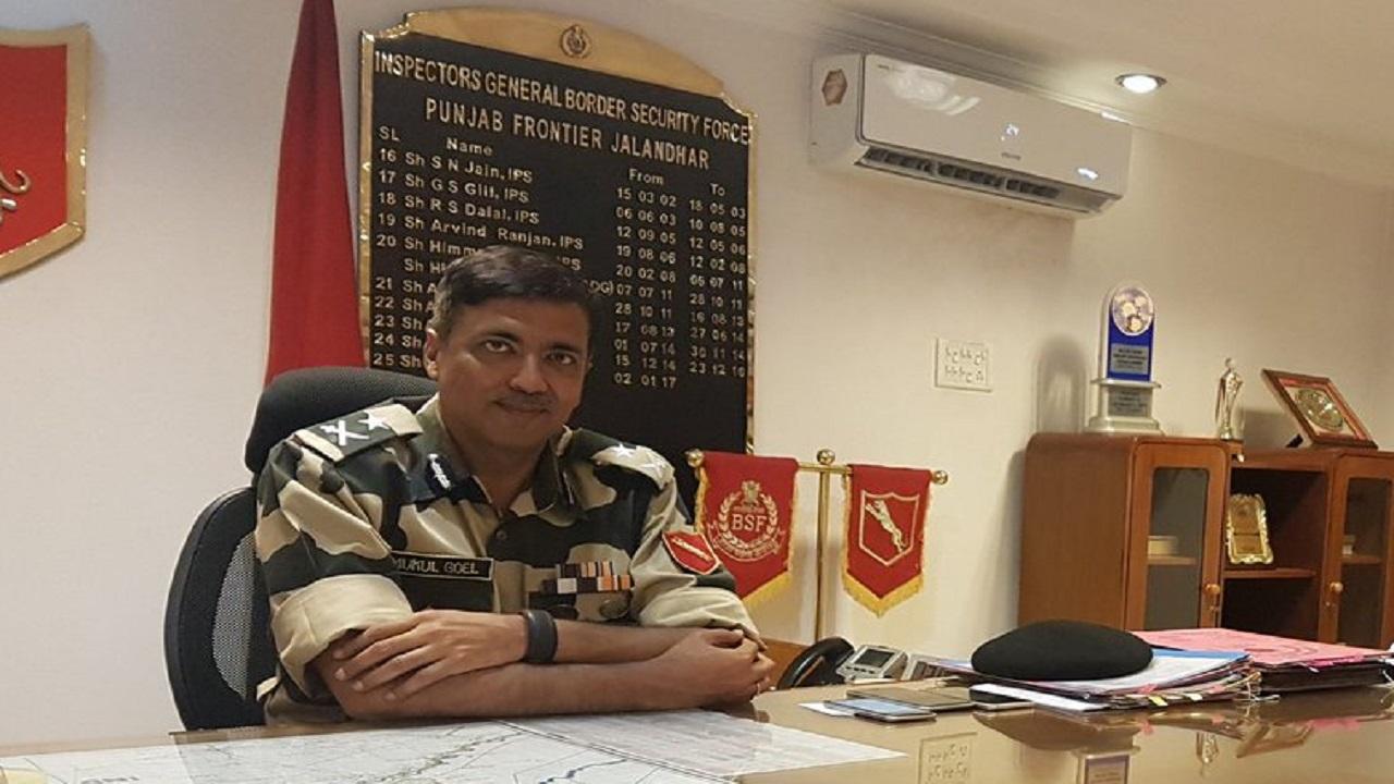 BSF के एडीजी मुकुल गोयल को बनाया गया यूपी का नया डीजीपी, 1987 बैच के IPS की ये है खासियत