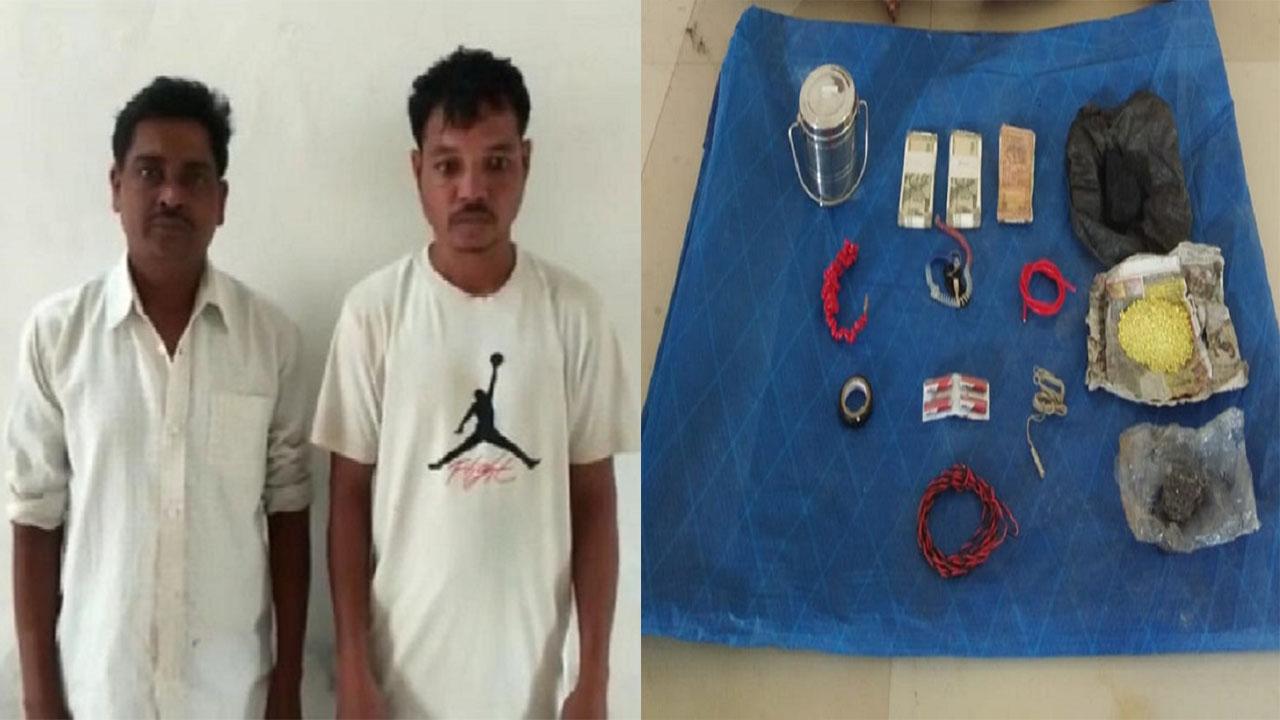 बीजापुर में सुरक्षाबलों को मिली बड़ी कामयाबी, विस्फोटक के साथ नक्सलियों के 2 सहयोगी गिरफ्तार