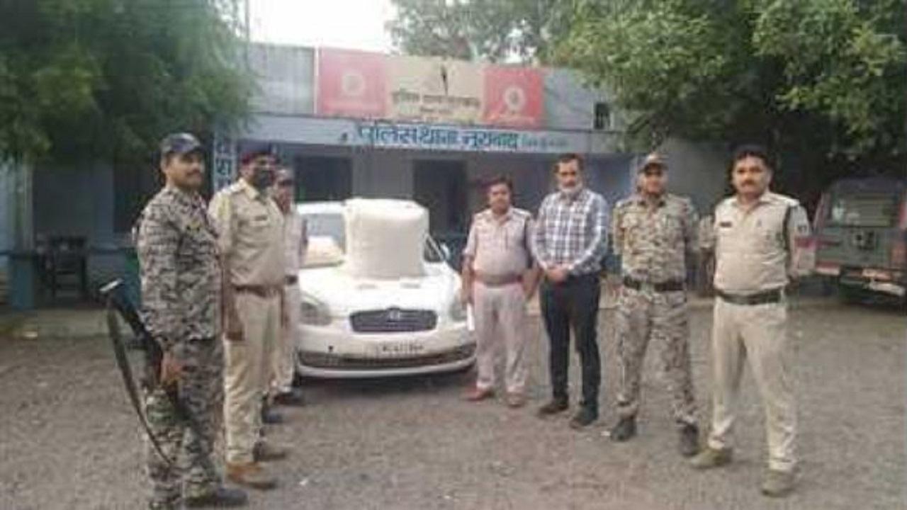 मध्य प्रदेश: नक्सलियों से खरीद कर ला रहे थे गांजा, नूराबाद पुलिस ने 3 तस्करों को दबोचा