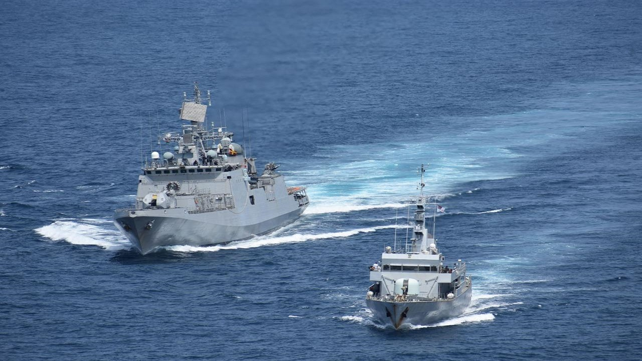 Indian Navy की INS Talwar ने कटलैस एक्सप्रेस-2021 में लिया हिस्सा, देखें PHOTOS
