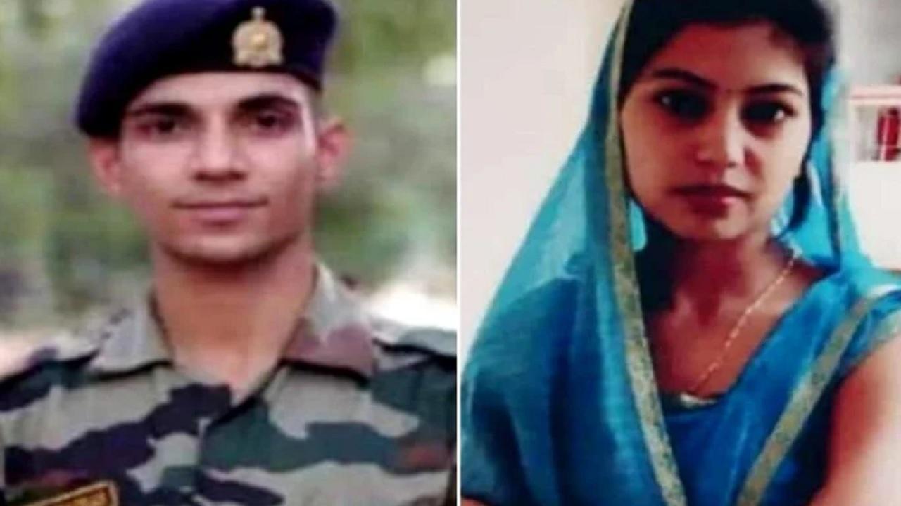 यूपी: कश्मीर में तैनात सैनिक की मौत के बाद पत्नी ने फांसी लगाकर दी जान, इस वजह से थी आहत