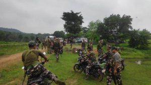 बिहार: पंचायत चुनाव को लेकर सुरक्षाबल एक्शन में, औरंगाबाद के नक्सली इलाकों में चलाया सर्च ऑपरेशन