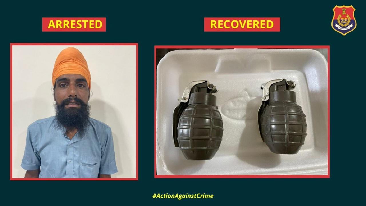 पंजाब को दहलाने की नापाक साजिश नाकाम, पुलिस ने हथियार के साथ एक आतंकी को दबोचा