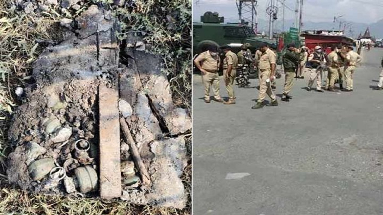 जम्मू-कश्मीर: घाटी में पाक-चीन के संयुक्त आतंकी खेल का भंड़ाफोड़,  श्रीनगर से 7 'मेड इन चाइना' ग्रेनेड बरामद