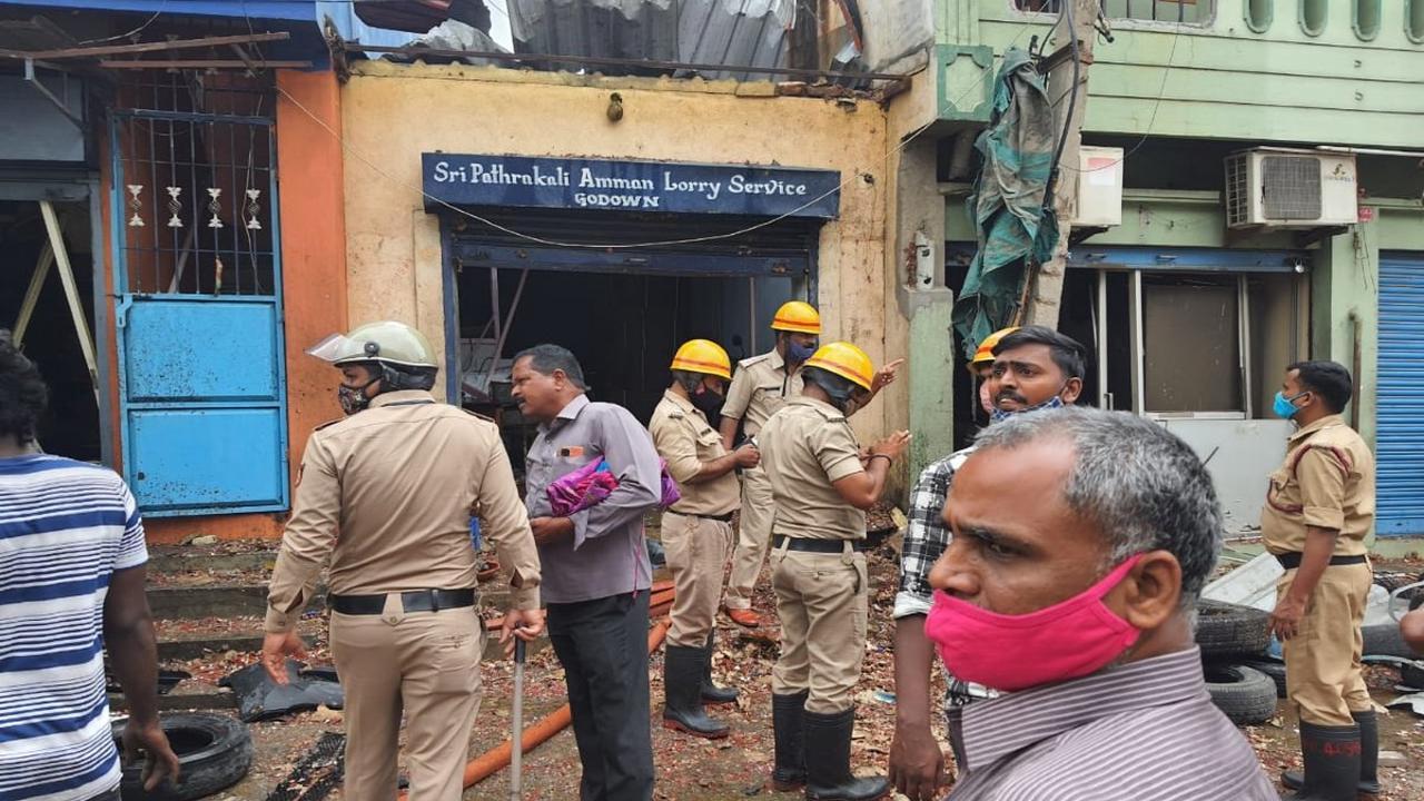 बेंगलुरू: केमिकल गोदाम में हुये विस्फोट में 3 लोगों की मौत और 4 घायल, 2 किमी दूर तक सुनाई दी धमाके की गूंज