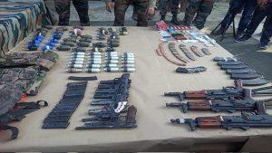 भारतीय सेना ने सरहद पर घुसपैठ कर रहे तीन आतंकियों को मार गिराया, बड़ी संख्या में हथियारों व गोला-बारूद का जखीरा बरामद