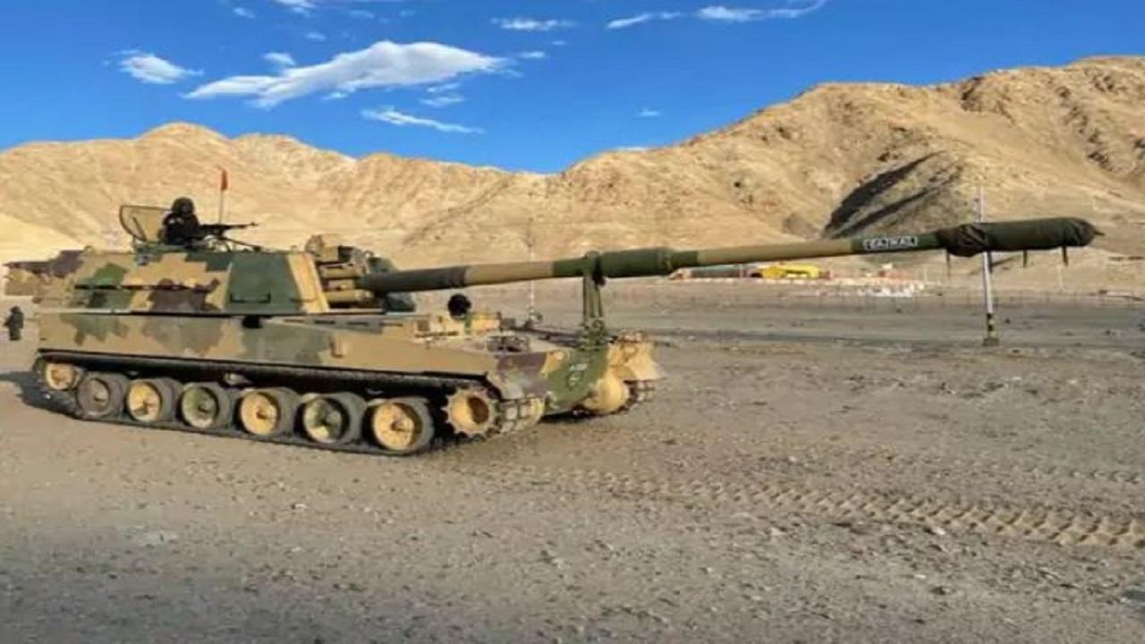 LAC पर पहली बार तैनात हुईं K9-वज्र तोपें, सेना प्रमुख ने कहा- हम हर स्थिति से निपटने के लिए तैयार
