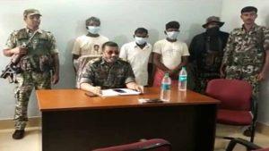 बिहार: मुंगेर में सुरक्षाबलों को मिली बड़ी कामयाबी, 3 हार्डकोर नक्सली गिरफ्तार