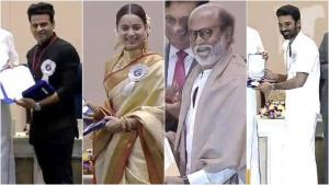 सुपरस्टार रजनीकांत को मिला दादा साहेब फाल्के पुरस्कार, मनोज व कंगना सहित इन दिग्गजों को भी मिला सम्मान
