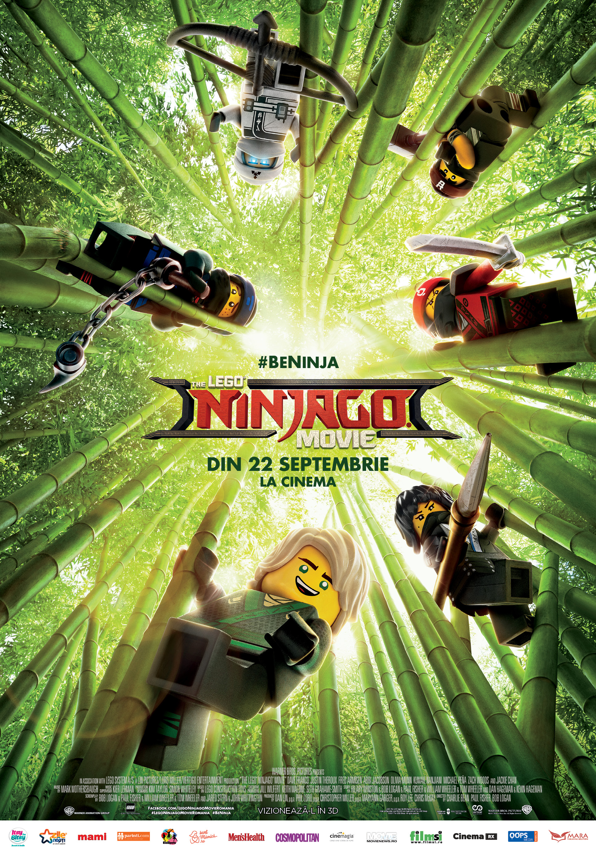 The LEGO Ninjago Movie Romania