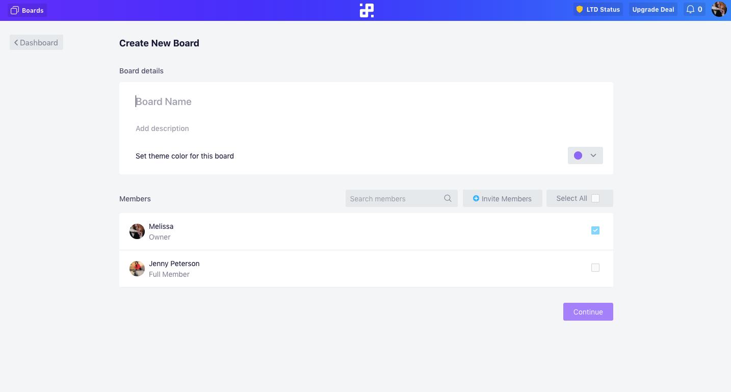 board-creation