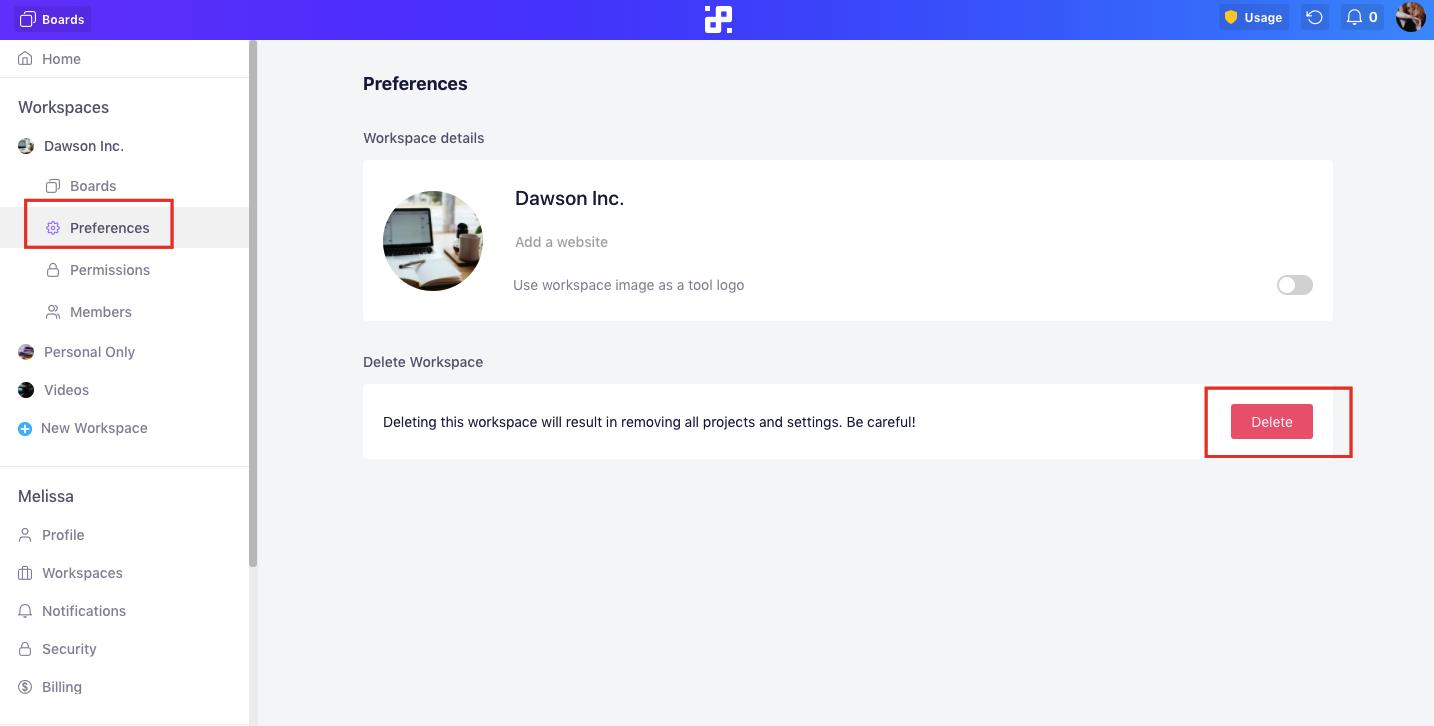 delete-workspace
