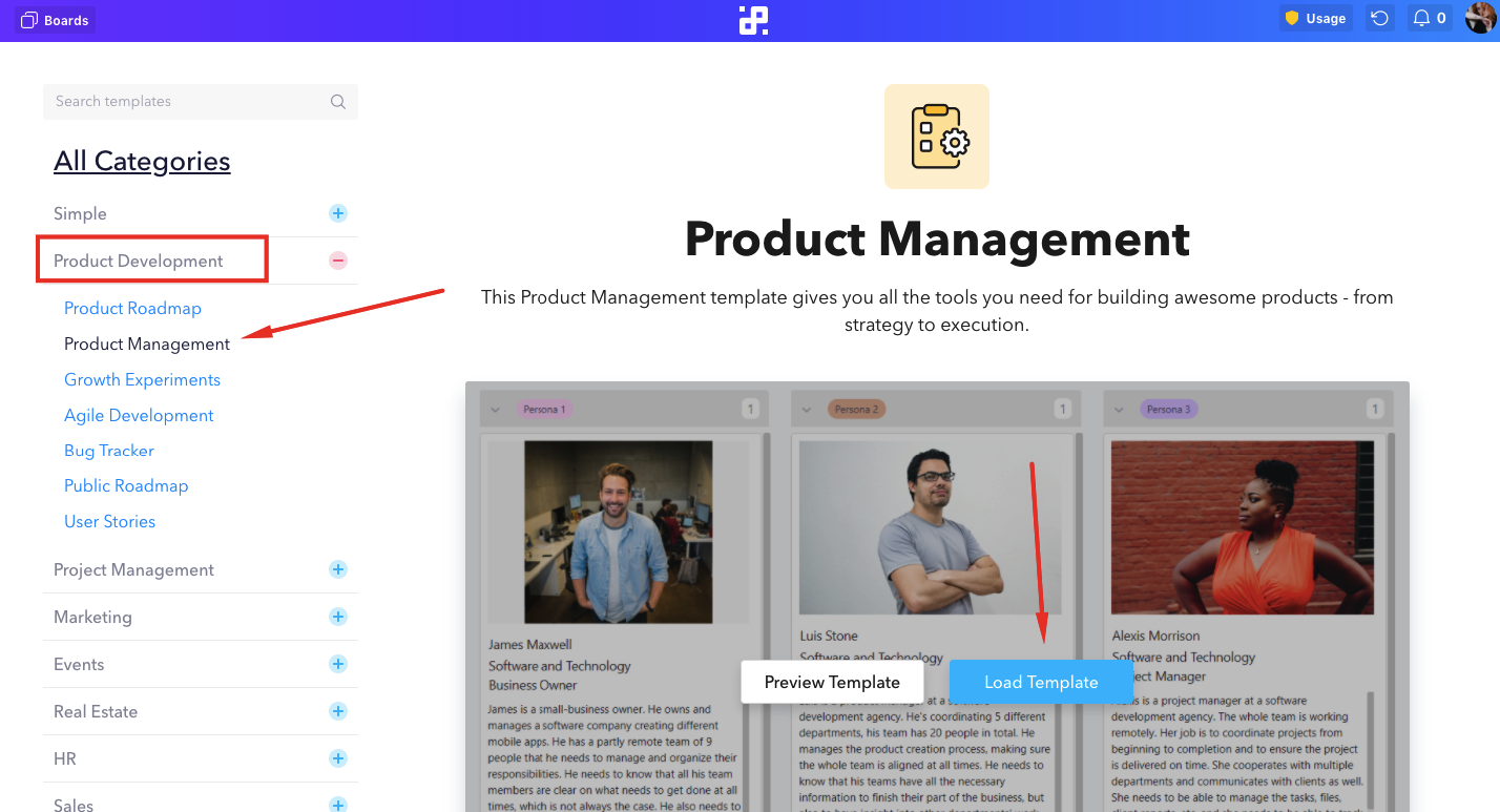 product-management-template