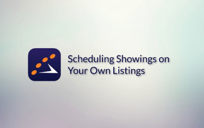 Would you like to learn how to schedule a showing on your own listings?