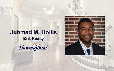 Juhmad H. Hollis Saves Time, Generates More Showings with ShowingTime