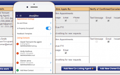 How to add contacts to Listing worksheet