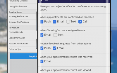 FAQ: How do I modify my appointment notification settings?