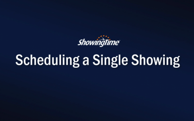 How to schedule a single showing