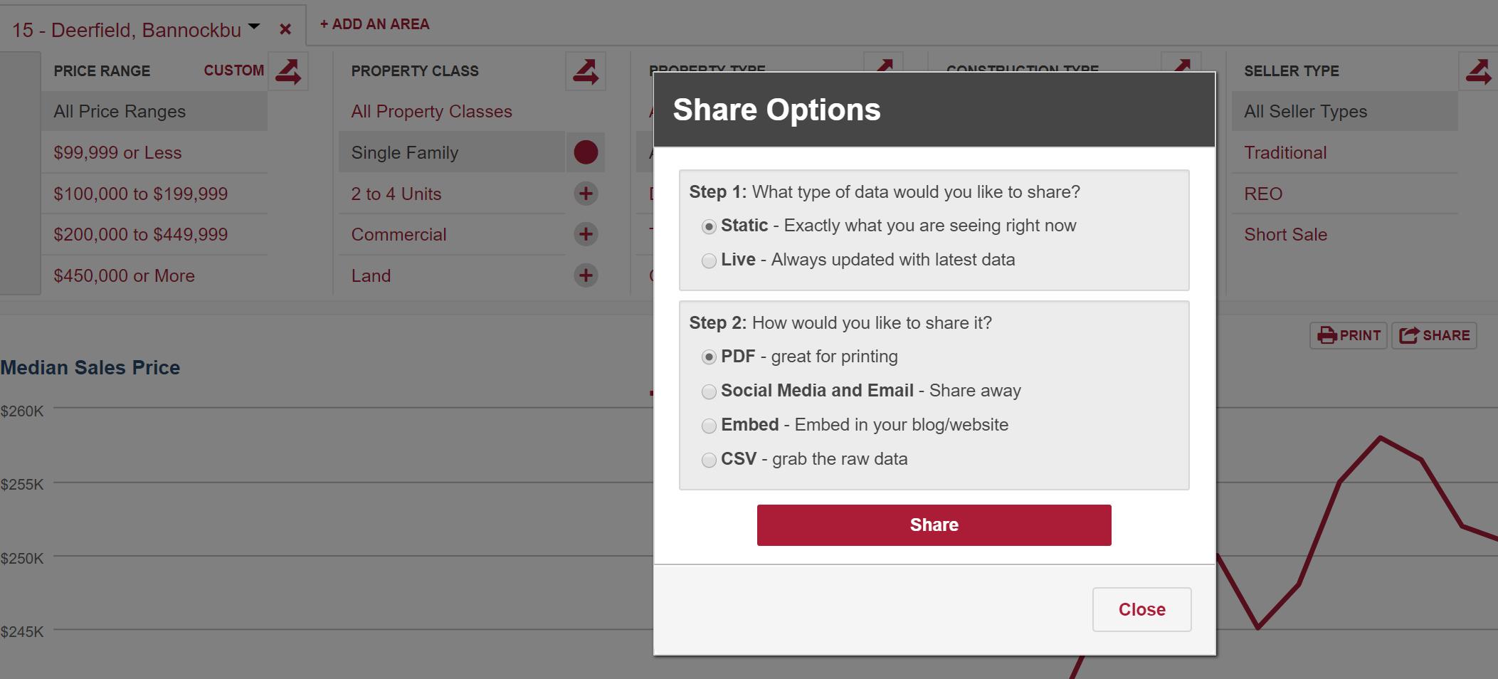 InfoSparks Share Options