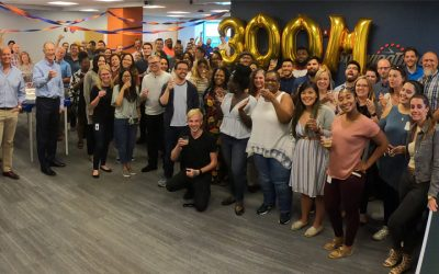 Celebrating a New Milestone – and the Agent Who Helped Us Reach it