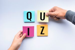 Take Our Quiz!