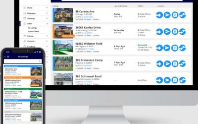 During a Frenzied 2021 Market, Busy Real Estate Agents Processed More Than 120,000 Offers Using ShowingTime's Offer Manager Platform