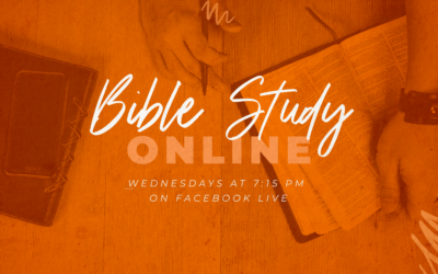 Online Bible Study Moves to Wednesday Evenings