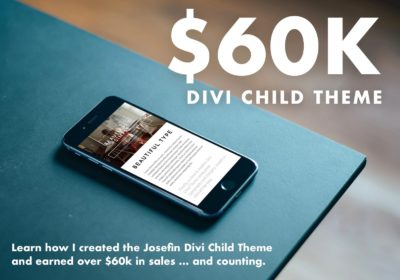 $60k Divi Child Theme Course