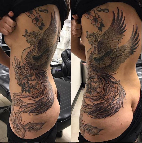 Tattoo Sourcebook Phoenix: 7 Fantastic Phoenix Tattoos