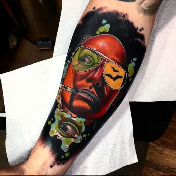 Tattoo Artist Spotlight Andrew Little Andy Marsh Tattoocom