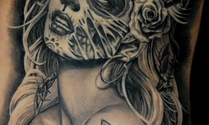 10 Dia De Los Muertos Tattoos Tattoocom