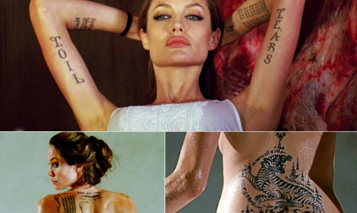 Celebrity Skin Public Fascination With Celebrity Tattoos
