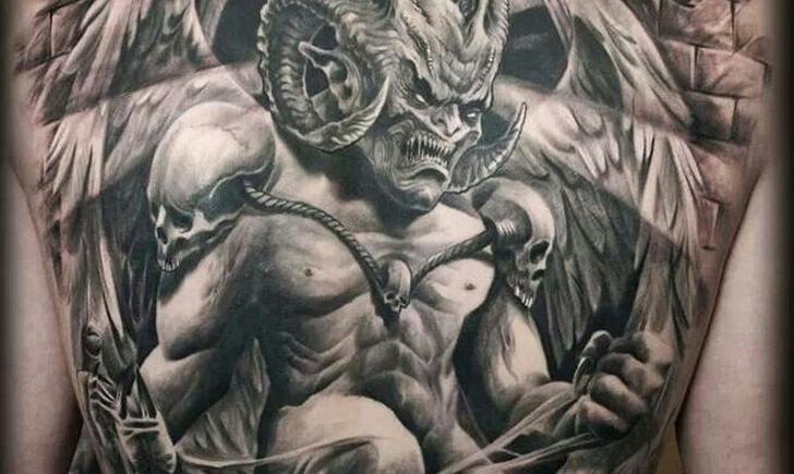 Full Back Tattoos: Big Expression - Tattoo.com