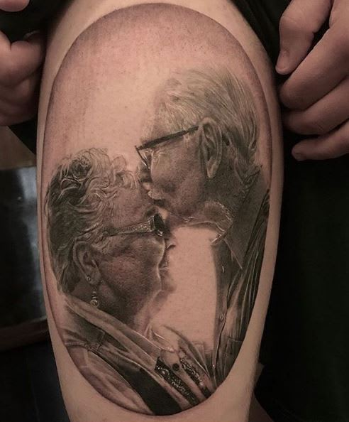 Top 10 Portrait Tattoos Of 2017 Realism Tattoocom