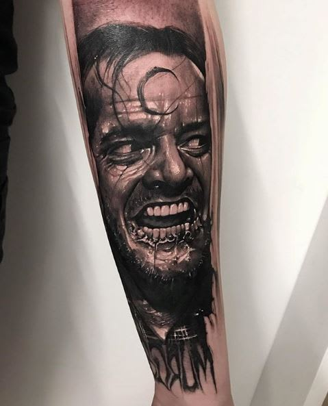 The Shining - tattoo by @anrijsstruame