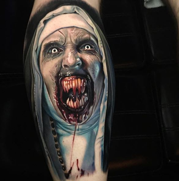 The Conjuring - tattoo by @paulackertattoo