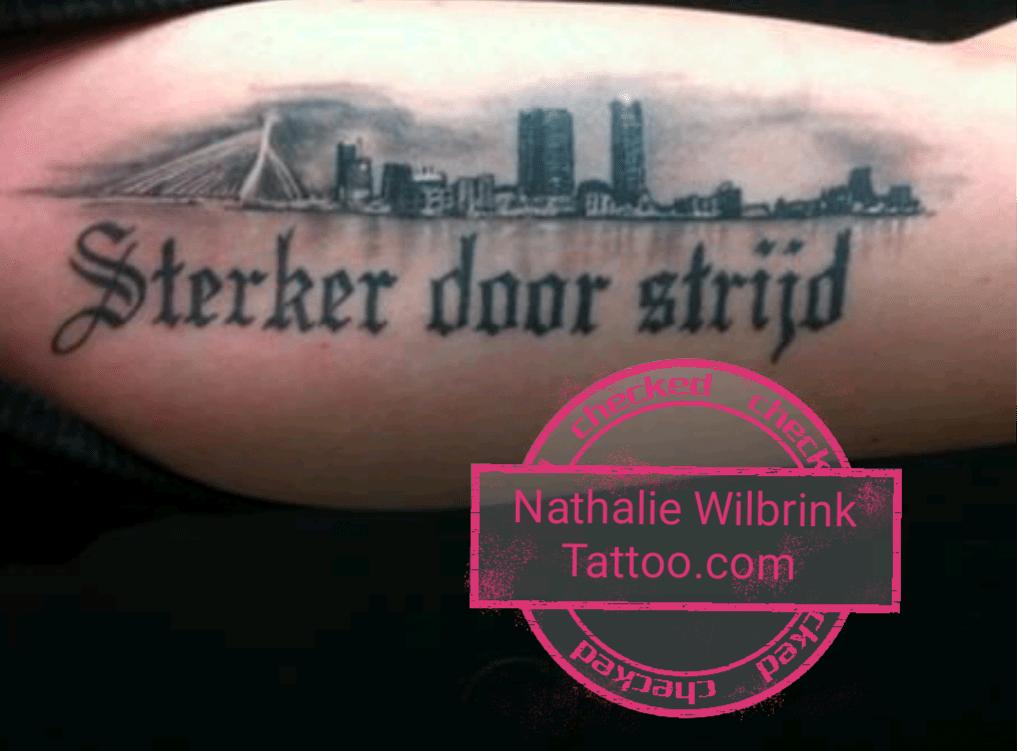 Skyline Rotterdam Tattoocom