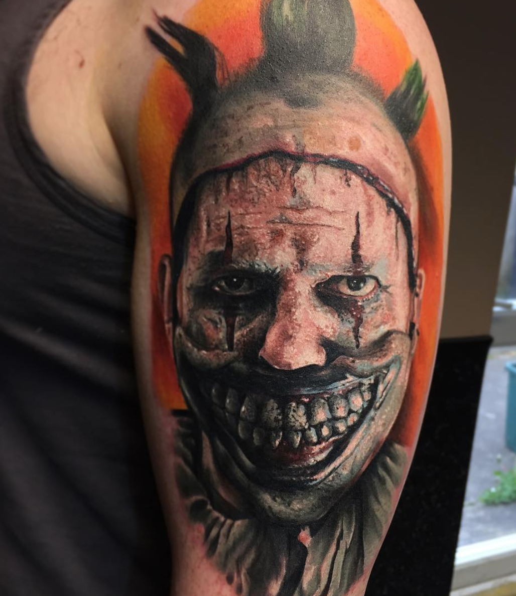 American Horror Story - tattoo by @maxpnieski