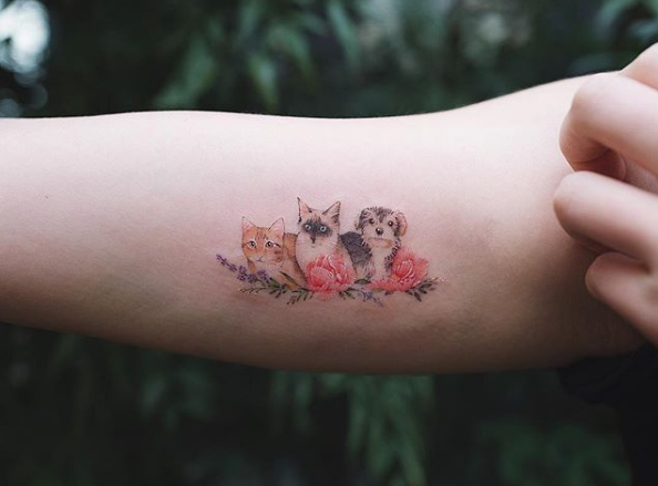 Pet Tattoos Cat