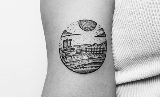 10 landscape tattoos that we are obsessed with tattoo com