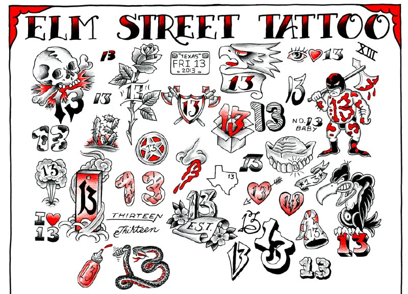 a69e2e033 Tattoo History: Friday the 13th and Oliver Peck - Tattoo.com