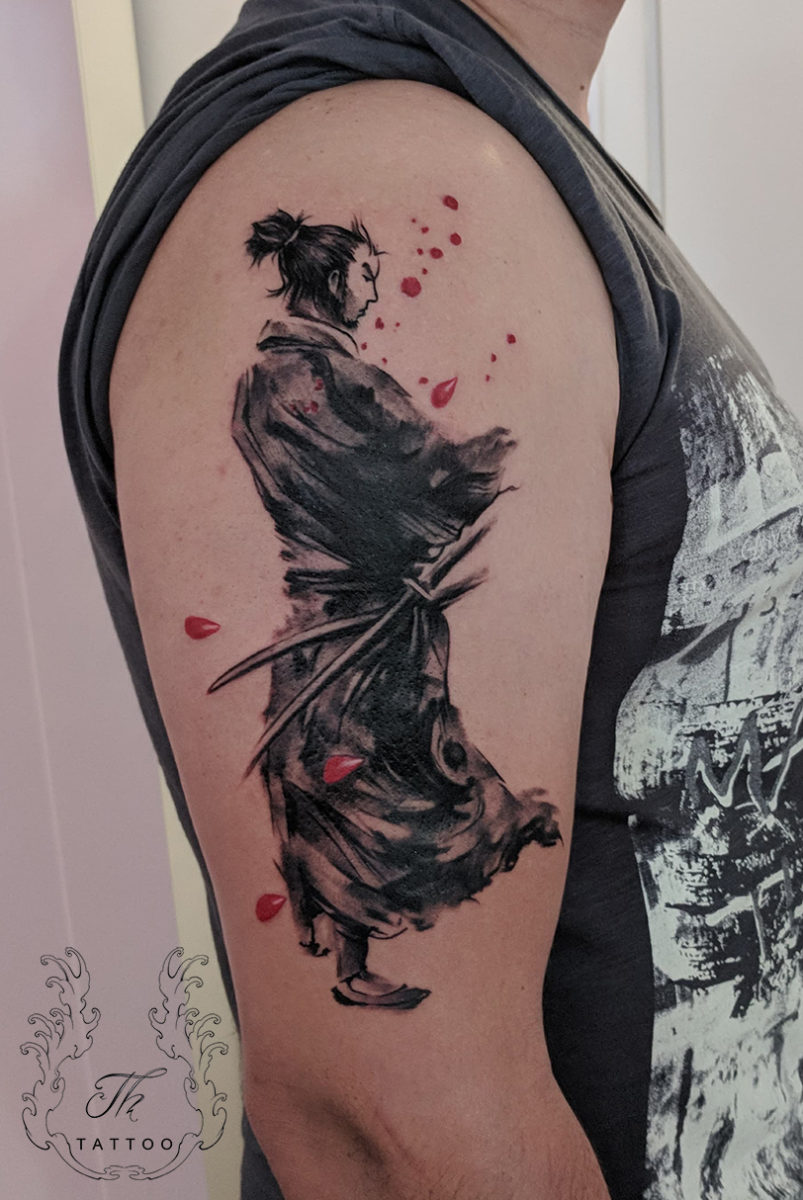 Samurai Tattoo Tatuaj Samurai Tattoo Com