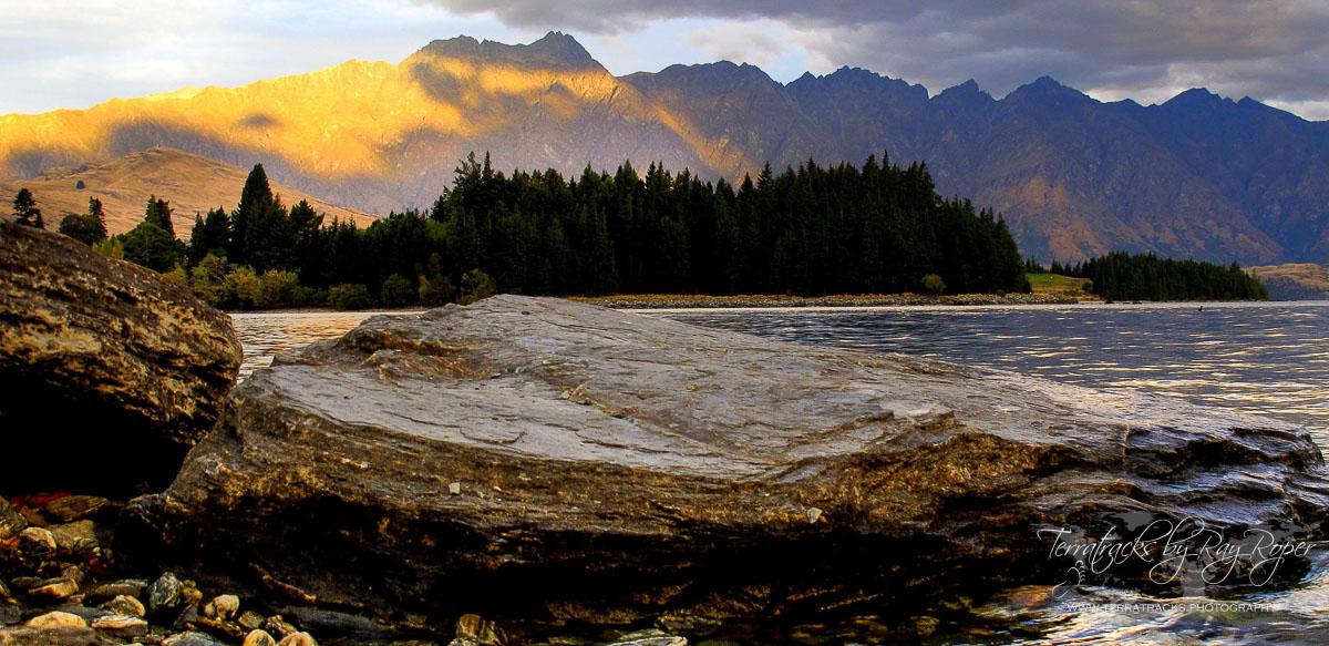 Queenstown, Lake Wakatipu, sunset